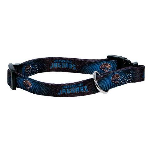 Jacksonville Jaguars Dog Collar - Hunter MFG Jacksonville Jaguars Dog Collar, Extra Large