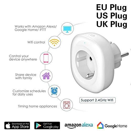Toma WiFi con Puerto USB Alexa Smart Outlet Compatible con Alexa ...
