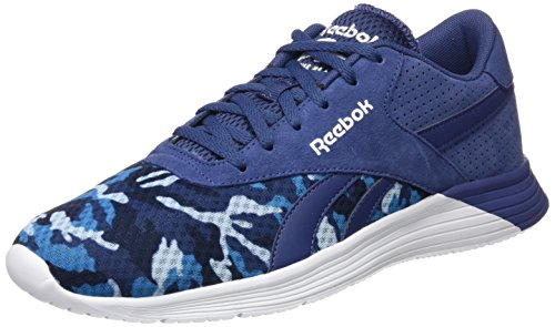 Reebok Royal EC Ride GFX, Scarpe da Corsa Uomo Blu/Blu/Blu/Blu/Bianco (Midnight Blue/Z.b.blue/Ele Blue/Navy/Whi)