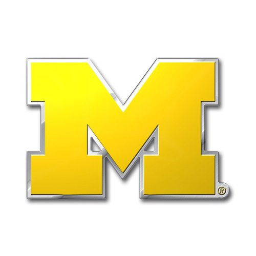 NCAA Michigan Wolverines Die Cut Color Automobile - Outlet Michigan Malls Usa In