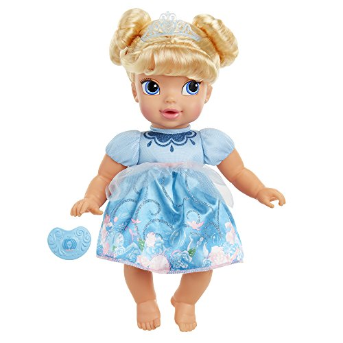 Toddler Cinderella Doll (Disney Princess Deluxe Baby Cinderella Doll with Pacifier Toy)