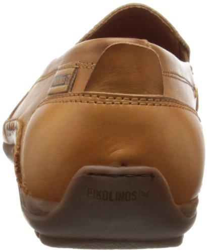 Pikolinos Azores 06H-5303 - Mocasines de cuero para hombre Marrón (Braun (Brandy))