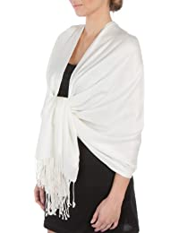 "78"" x 28"" Silky Soft Solid Pashmina Shawl/Wrap/Stole"