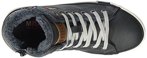 MustangHigh Top Sneaker - zapatillas deportivas altas Niños-Niñas Gris (259 graphit)
