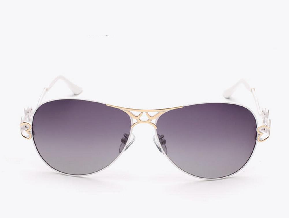 CMCL Wanderer Fashion Lady Polarized Sonnenbrillen Gradient Polarized Mirror Weibliche Modelle Kokons