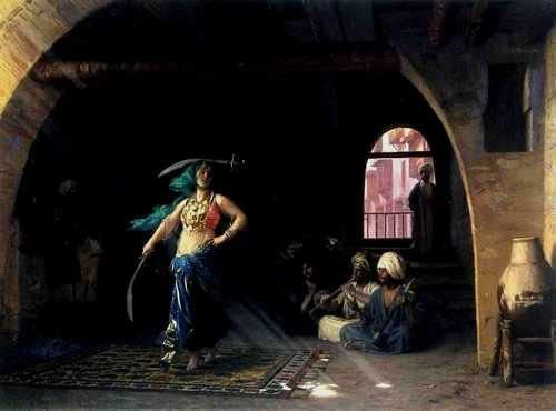 Jean Leon Gerome Sabre Dance In A Cafe A4 10x8 Photo Print Poster ...