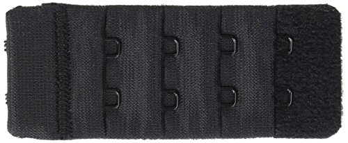 Dritz(R) Bra Back Extender 1-1/4 Inch Wide-Black 2 - 2 Black With