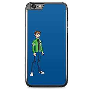 Loud Universe Blue Art Ben 10 iphone 6 Case Grown Up Ben 10 iphone 6 Cover with Transparent Edges