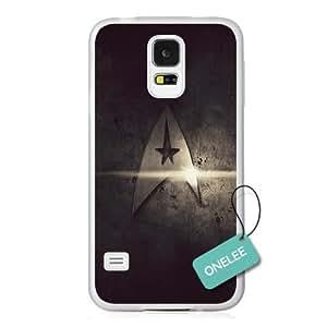 Star Trek Movies Badge Transparent Hard Plastic Samsung Galaxy S5 Case & Cover - Star Trek Insignia Samsung Galaxy S5 case - Transparent 1