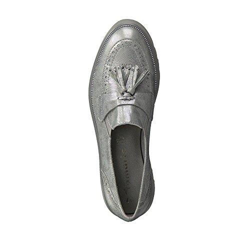 Tamaris 29 Loafer 944 Silber Women's 1 Flats 1 24711 Fwqp4F