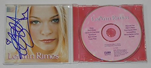 LeAnn Rimes Self-Titled Authentic Signed Autographed Music Cd Compact Disc Loa