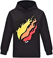Thombase Prestonplayz Youtuber Boys Girls Hoodie Pullover Sweatshirts Hooded Preston Tops