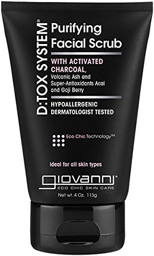 GIOVANNI Hair Care Products D:TOX System,Facial Scrub, 4 OZ by Giovanni Cosmetics, Inc.