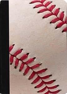 Rikki KnightTM Baseball Design Kindle? FireTM Notebook Case Black Faux Leather (Not for Kindle Fire HD)