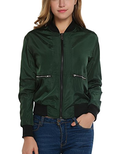 Meaneor Meaneor Olive Giacca Donna Giacca Green dwqZ6a