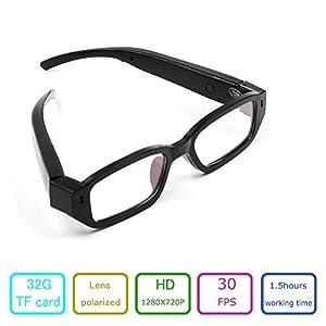 EOVAS 4Gb Glasses Camera 720P Camcorder Glasses Video Eyewear Dvr Digital Camera