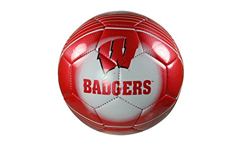 Wisconsin Badgers Official Licensed Soccer Ball Size 5 -02-1