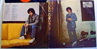 Billy Joel LP 52nd Street - Columbia Records 1978 - STERLING TJ -