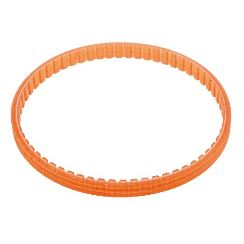 uxcell 4mm Pitch 62T 235mm Girth 7mm Width Single Sided PU Timing Pulley Belt