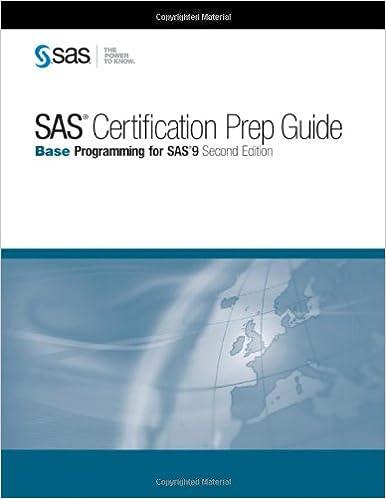 SAS Certification Prep Guide: Base Programming for SAS 9, Second ...