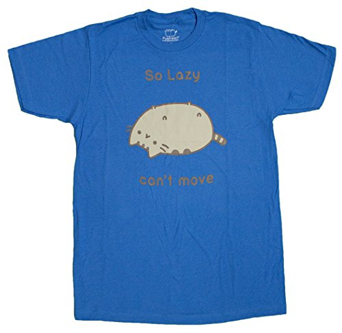 Pusheen Men's So Lazy Cant Move T-Shirt