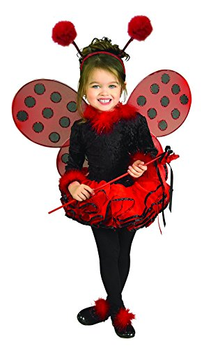Child's Costume, Lady Bug Tutu Costume, Small - (Size 4-6) (for 3-4 (Lady Bug Childrens Costumes)