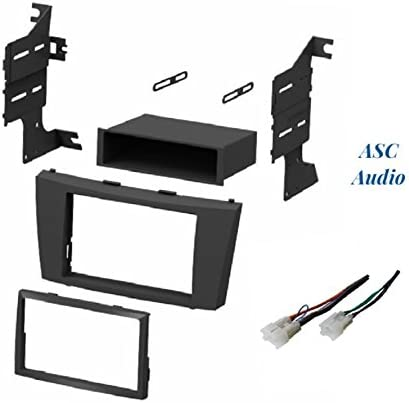 TOYOTA 2007-2011 CAMRY DASH INSTALL KIT for CAR STEREO with WIRE HARNESS