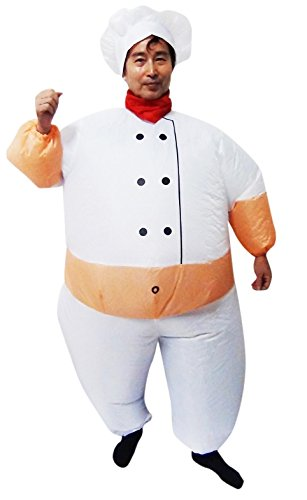 Inflatable Suit Fan Dress Costume Fancy CHEF Operated Aqw6RUzWE