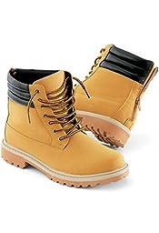 Urban Groove Hip Hop Work Boot Unisex Dance Boot Camel 5AM