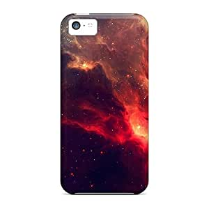 Archerfashion2000 XCH5487LURo Cases Covers Iphone 5c Protective Cases Deep Red Space