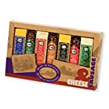 Heart of Wisconsin Cheese & Sausage Variety Pack, perfect for Father's Day