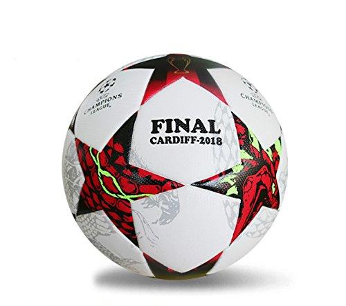 2018 nuevo tamaño 5 formación bolas fútbol oficial PU balón de fútbol   Amazon.es  Deportes y aire libre c923d96e4954e