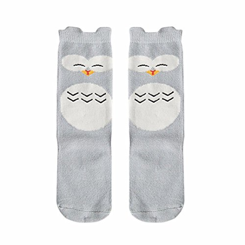 4 Pairs Baby Girls Leg Warmers Bowknot Cotton Stockings Socks - 9