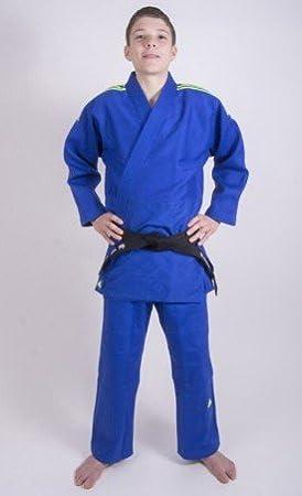 Adidas Traje de Judo Quest Azul, Color, tamaño 160: Amazon ...