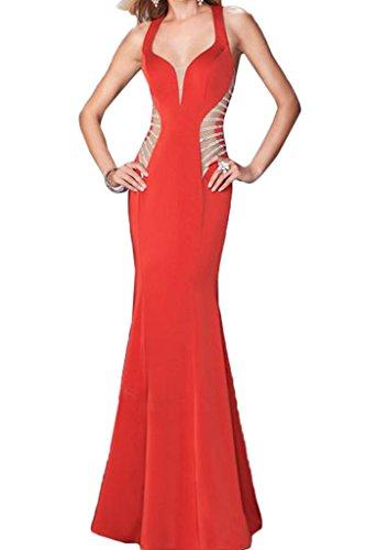 Partykleid Abendkleid Ballkleid Linie Lang Promkleid Festkleid Modisch Etui Ivydressing Rot Damen Chiffon 0vxqfW