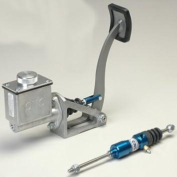 CNC azul Pedal de embrague de montaje en suelo Kit de montaje de altura 5/8 pulgadas Cilindro de Master y esclavo Cilindro: Amazon.es: Coche y moto