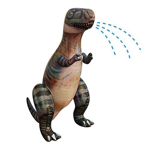 Wonderful Industry ltd 6 Feet Inflatable Dinosaur Yard Sprinkler, Ginormous Tall Sprinklers for Kids, Summer Backyard Outdoor Water Toys, Child Game Plaything