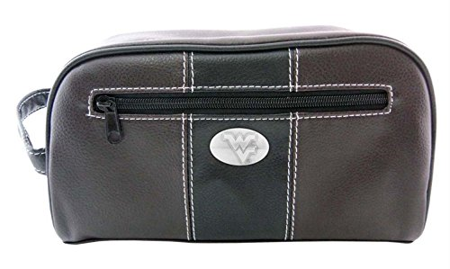 ZeppelinProducts WVU-MTB1-BRW West Virginia Toiletry Bag Brown from ZeppelinProducts