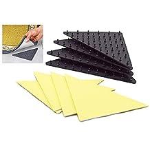 Noppor Anti Slip Rug Grippers Spike Underlay Pads Non Slip Stick Carpet Ruggies Set of 4