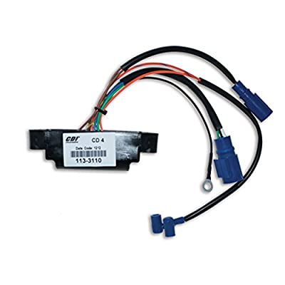 CDI Electronics 113-3110 Johnson/Evinrude Power Pack-4 Cyl (1986-1987): Automotive
