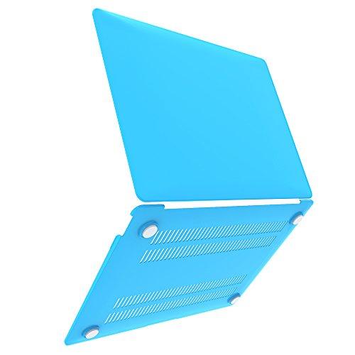 "iBenzer Macbook Retina 12"" Plastic Hard Case, (Sky Blue)"