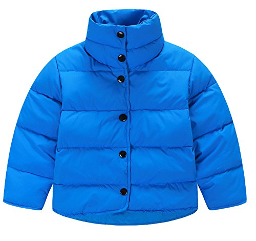 Collar Boys Blue Button Stand Down Lemonkids Jacket Coat Infant Chic Outwear Down IZRBnxHwq