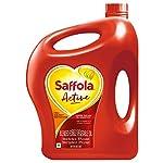 Saffola Active, Pro Weight Watchers Edible Oil, Jar, 5 L 8