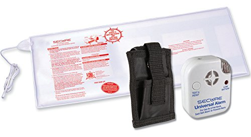 Secure Long Term Bed Exit Alarm Set for Fall and Wandering Prevention - 12