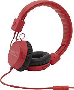 "WeSC Piston Street - Auriculares (Circumaural, Diadema, 20 - 20000 Hz, Alámbrico, 3.5 mm (1/8""), 1.1 m) Rojo"