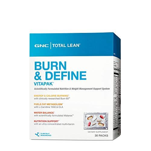 - GNC Total Lean Burn and Define Vitapak, 30 Packs