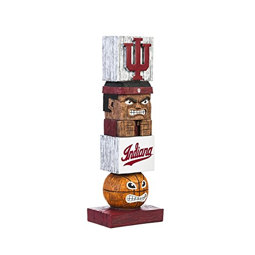 (Evergreen NCAA Indiana Hoosiers Tiki Totem, Team Colors, One Size)