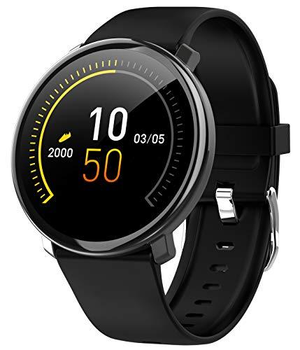 Smart Watch Fitness Tracker Heart Rate Monitor Calorie Counter Blood Pressure Bluetooth Activity Sport Wrist Watch for Men Women