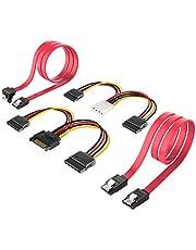 Inateck SATA-kabel en SATA-stroomsplitterkabel, ST1003