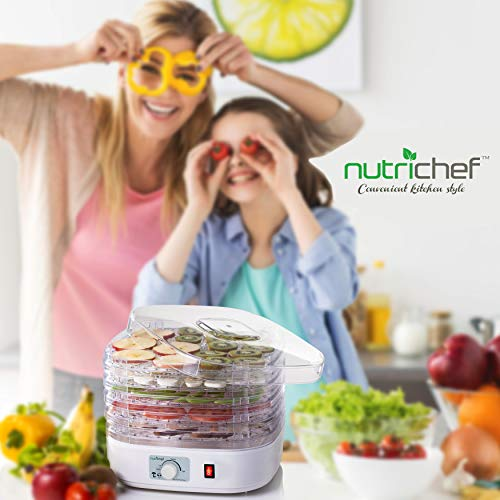 NutriChef PKFD06 Electric Food Dehydrator Machine